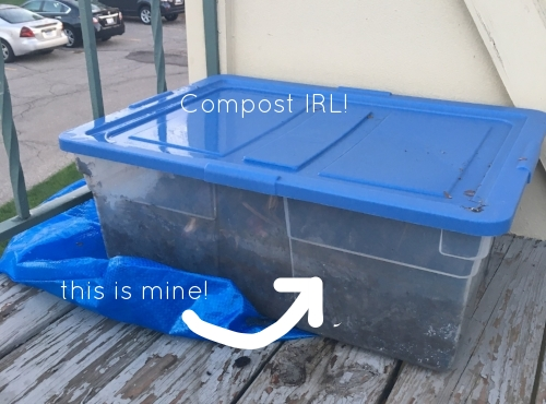 Compost - it's doable even in an apartment