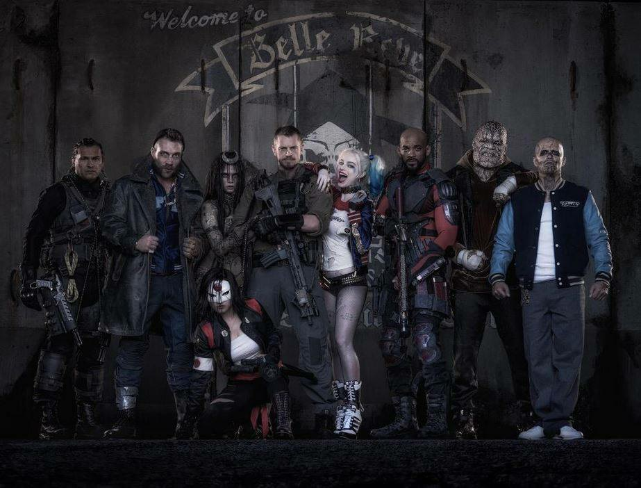 The Sucide Squad cast photo