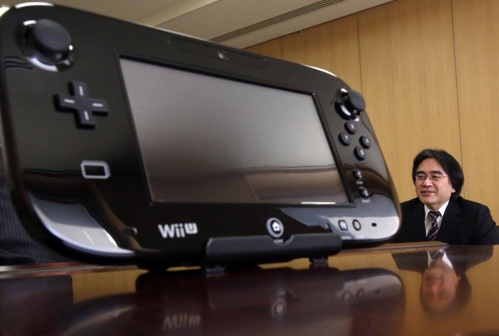 Iwata talking about the home console the Wii U