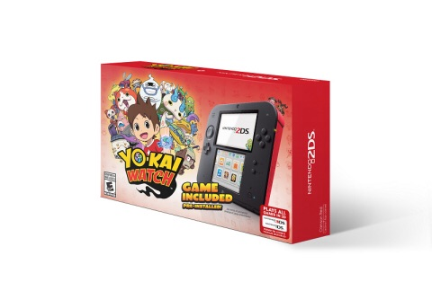 New YO-KAI WATCH Nintendo 2DS Bundle Hits Stores  on Nov. 6  (Photo: Business Wire)