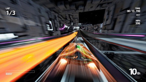 Available exclusively in the Nintendo eShop on Wii U, FAST Racing NEO lets you jump into the driver's seat of anti-gravity vehicles and put them through their paces in high-octane competitions at 60 frames per second. (Photo: Business Wire)