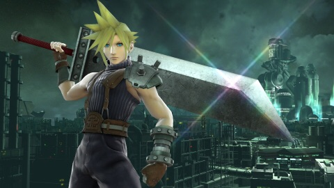 Cloud makes his Super Smash Bros. debut and brings the Midgar stage with him, complete with Summons! (Photo: Business Wire)