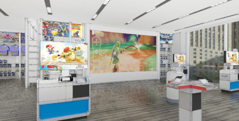 On Jan. 19, the iconic Nintendo World store in Rockefeller Plaza in New York will temporarily close its doors for a major renovation. When the store reopens on Feb. 19, it will do so with a new look and a new feel. (Photo: Business Wire)