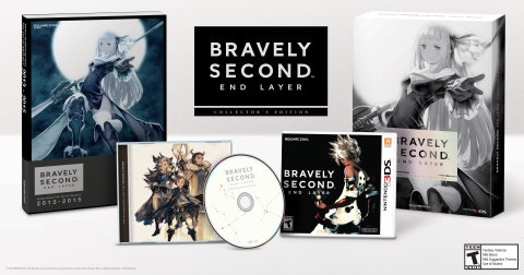 When Bravely Second: End Layer launches exclusively for the Nintendo 3DS family of systems  on April 15 , a Collector's Edition will also launch alongside it at a suggested retail price of $69.99. (Photo: Business Wire)