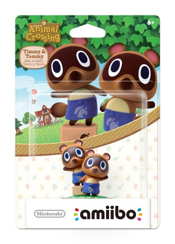 On March 18 , new amiibo figures in the Animal Crossing series will launch in stores, including characters like Timmy & Tommy, Kapp'n and Rover. (Photo: Business Wire)