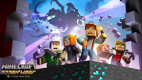 In Minecraft: Story Mode – Episode 1: The Order of the Stone, you'll embark on a perilous adventure across the Overworld, through the Nether, to the End and beyond. (Photo: Business Wire)