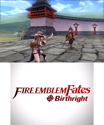 The Fire Emblem Fates: Birthright game will be available  on Feb. 19.  (Graphic: Business Wire)