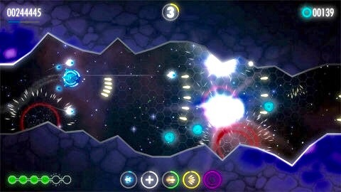 Star Ghost features procedurally generated levels, a unique control scheme and an atmospheric soundtrack from renowned composer David Wise. (Photo: Business Wire)