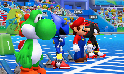 Mario & Sonic at the Rio 2016 Olympic Games launches for the Nintendo 3DS family of systems on March 18, and lets you show off your skills as you join Mario and Sonic to battle for a spot on top of the winner's podium. (Graphic: Business Wire)