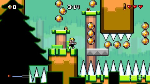 Renegade Kid's beloved dimension-defying platformer is back with a new game - Mutant Mudds Super Challenge - featuring a host of exciting, fresh platforming challenges and boss fights. (Photo: Business Wire)