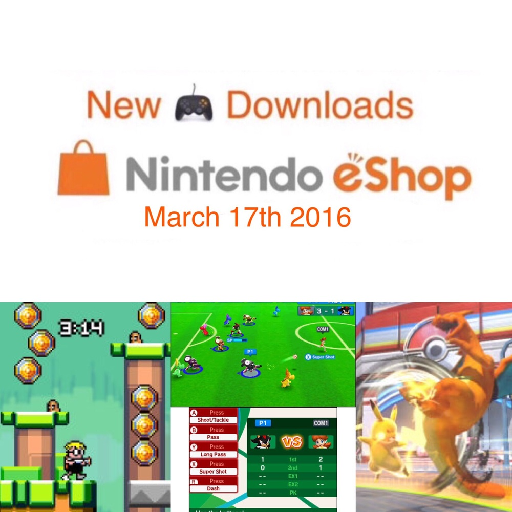 Mutants , Olympics , Pokemon fighting and more this week on the Nintendo eshop