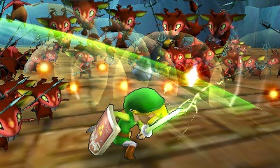 Hyrule Warriors Legends introduces new characters to the Hyrule Warriors family, including Toon Link. (Graphic: Business Wire)