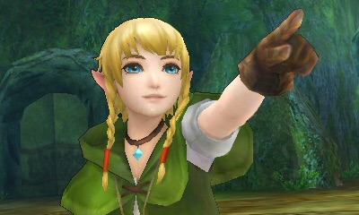 Making her debut in Hyrule Warriors Legends is Linkle, a girl who wields two crossbows and lives in a small village filled with Cuccos. (Graphic: Business Wire)