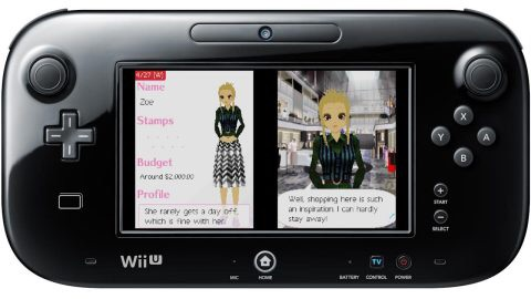 Show off your style as the owner of a chic boutique in the original Style Savvy game for the Nintendo DS system. (Graphic: Business Wire)