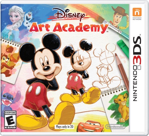 Disney Art Academy launches exclusively for the Nintendo 3DS family of systems  on May 13  (Photo: Business Wire)