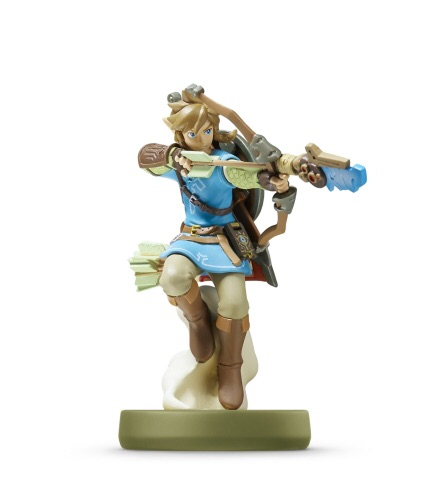 """Nintendo announced a new series of amiibo figures specific to The Legend of Zelda: Breath of the Wild that includes Link with a bow (""""Archer""""). (Photo: Business Wire)"""