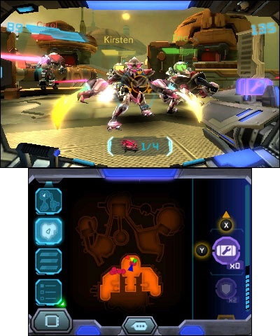 The Metroid Prime: Federation Force game will be available on Aug. 19. (Graphic: Business Wire)