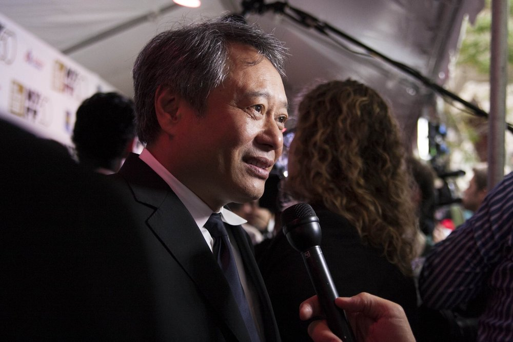 Ang Lee at the 50th New York Film Festival with Life of Pi. Photo by Olga Bas.