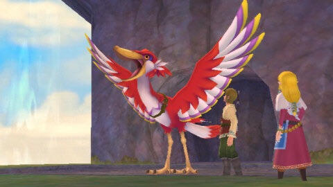 The Legend of Zelda: Skyward Sword, originally released on the Wii console, boasts realistic sword combat, turning every encounter into a challenge of both brains and brawn. (Graphic: Business Wire)
