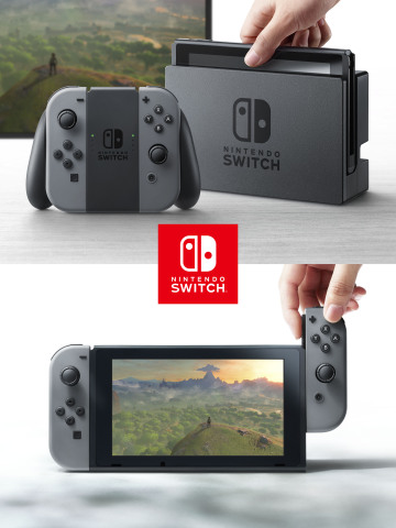 In addition to providing single and multiplayer thrills at home, the Nintendo Switch system also enables gamers to play the same title wherever, whenever and with whomever they choose. (Photo: Business Wire)