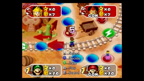 Mario and his Mushroom Kingdom friends return in this Nintendo 64 sequel for a new round of Bowser-bashing board game action. (Graphic: Business Wire)