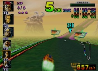 With five separate play modes, hidden vehicles and courses, and an excellent soundtrack, F-Zero X is an all-time classic Nintendo racing experience. (Photo: Business Wire)