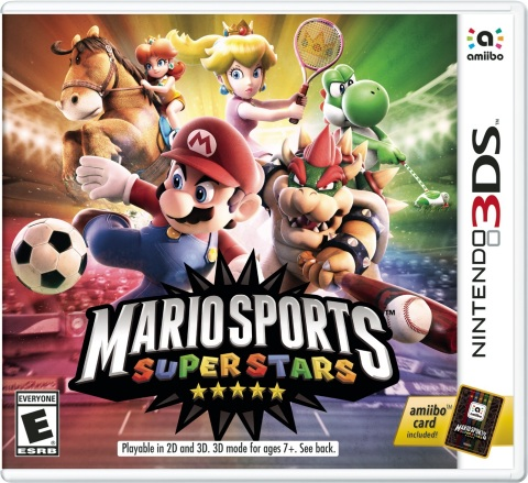 Mario Sports Superstars launches on March 24 and offers five full-featured sports like Soccer, Tennis, Golf, Baseball and, for the first time in a Mario sports game, Horse Racing. (Photo: Business Wire)