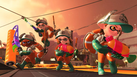 Splatoon 2 will be available  on July 21.  (Photo: Business Wire)