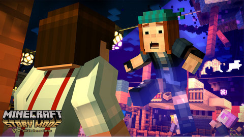 The Minecraft: Story Mode – The Complete Adventure game includes all five episodes of Season One and all three episodes of the Adventure Pass. (Photo: Business Wire)