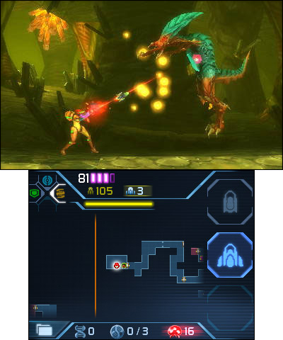 The Metroid: Samus Returns game will be available on Sept. 15. (Photo: Business Wire)
