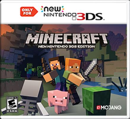 minecraft new 3ds