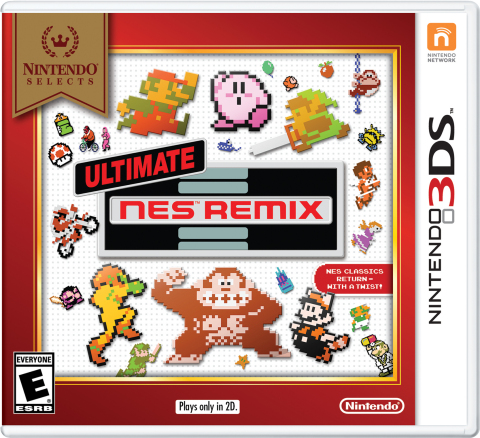 Starting on Feb.  5, Ultimate NES Remix is joining the Nintendo Selects library and will be available at a suggested retail price of only $19.99. (Graphic: Business Wire)