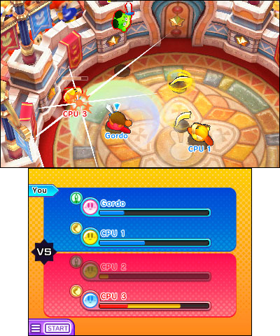 The Kirby Battle Royale game launches on Jan. 19.(Graphic: Business Wire)