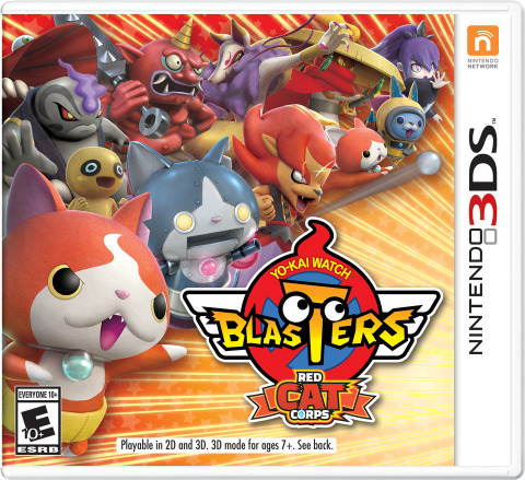 YO-KAI WATCH BLASTERS: Red Cat Corps launch exclusively for the Nintendo 3DS family of systems  on Sept. 7  at a suggested retail price of $39.99 each. (Photo: Business Wire)