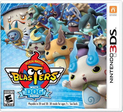 YO-KAI WATCH BLASTERS: White Dog Squad launch exclusively for the Nintendo 3DS family of systems  on Sept. 7  at a suggested retail price of $39.99 each. (Photo: Business Wire)