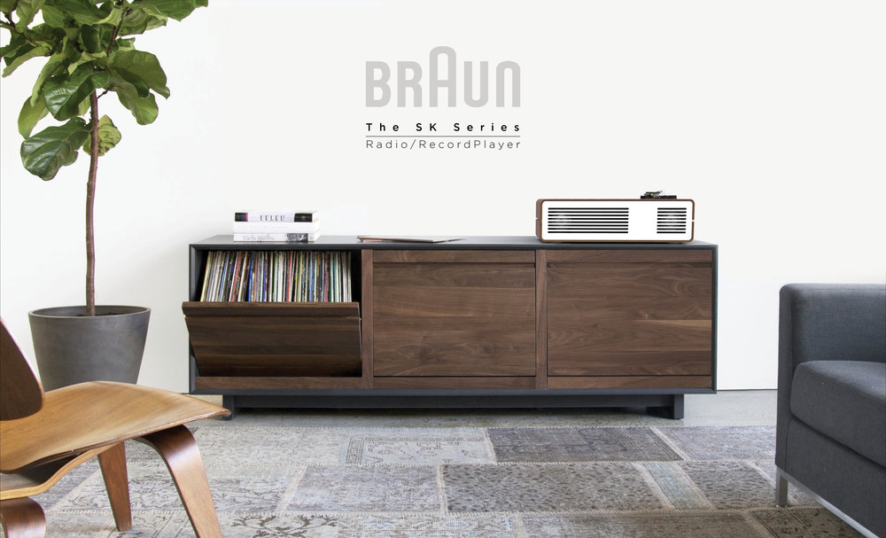 It redefines the current record player market by accounting for space optimization while enhancing the listeneru0027s experience.