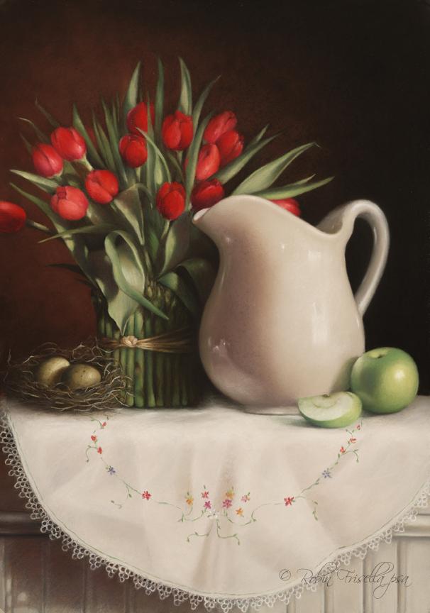Tulips 5, 2/3/09, 11:41 AM, 16C, 5498x7214 (268+785), 100%, art 2,  1/40 s, R97.3, G79.9, B108.0