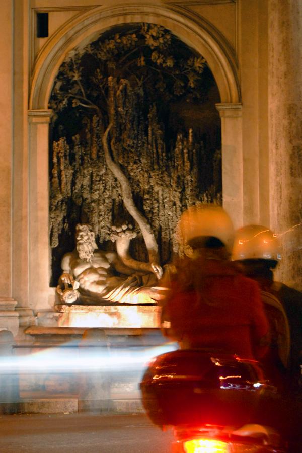 Rome - Quattro Fontane (River Tiber)