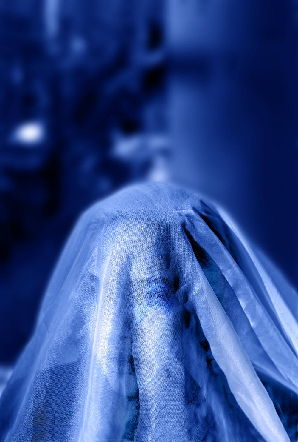 Adriana au voile bleu