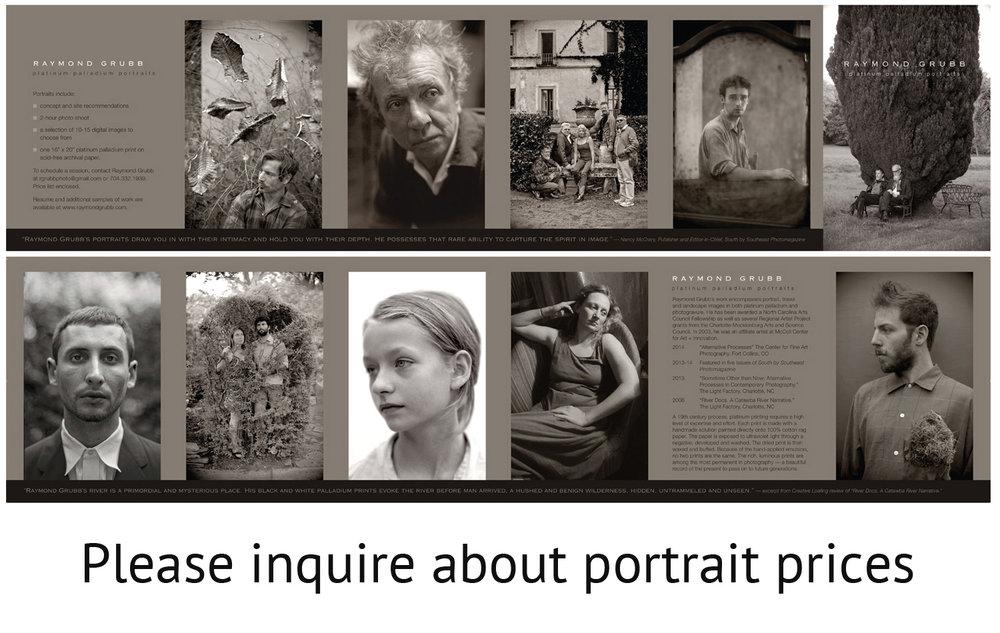 portrait brochure