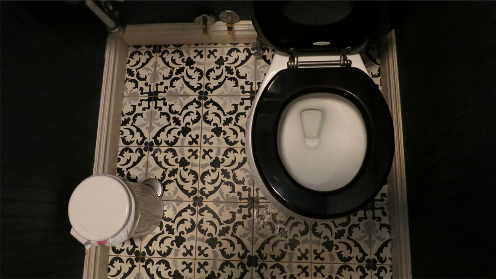 The finest food and drink in New York has to end up somewhere, but even the fanciest of restaurants seem shy about sharing their bathrooms. This  series  documents those rarely discussed amenities.