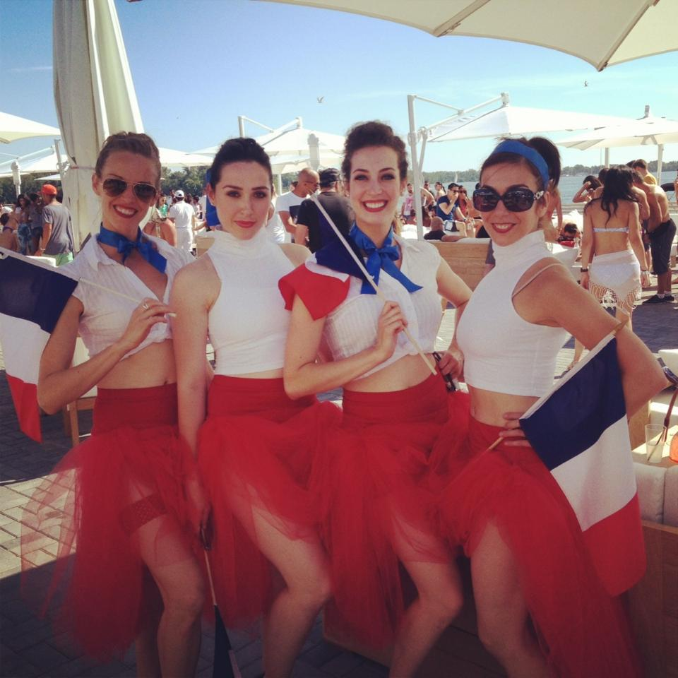 Bastille Day at Cabana Pool Bar