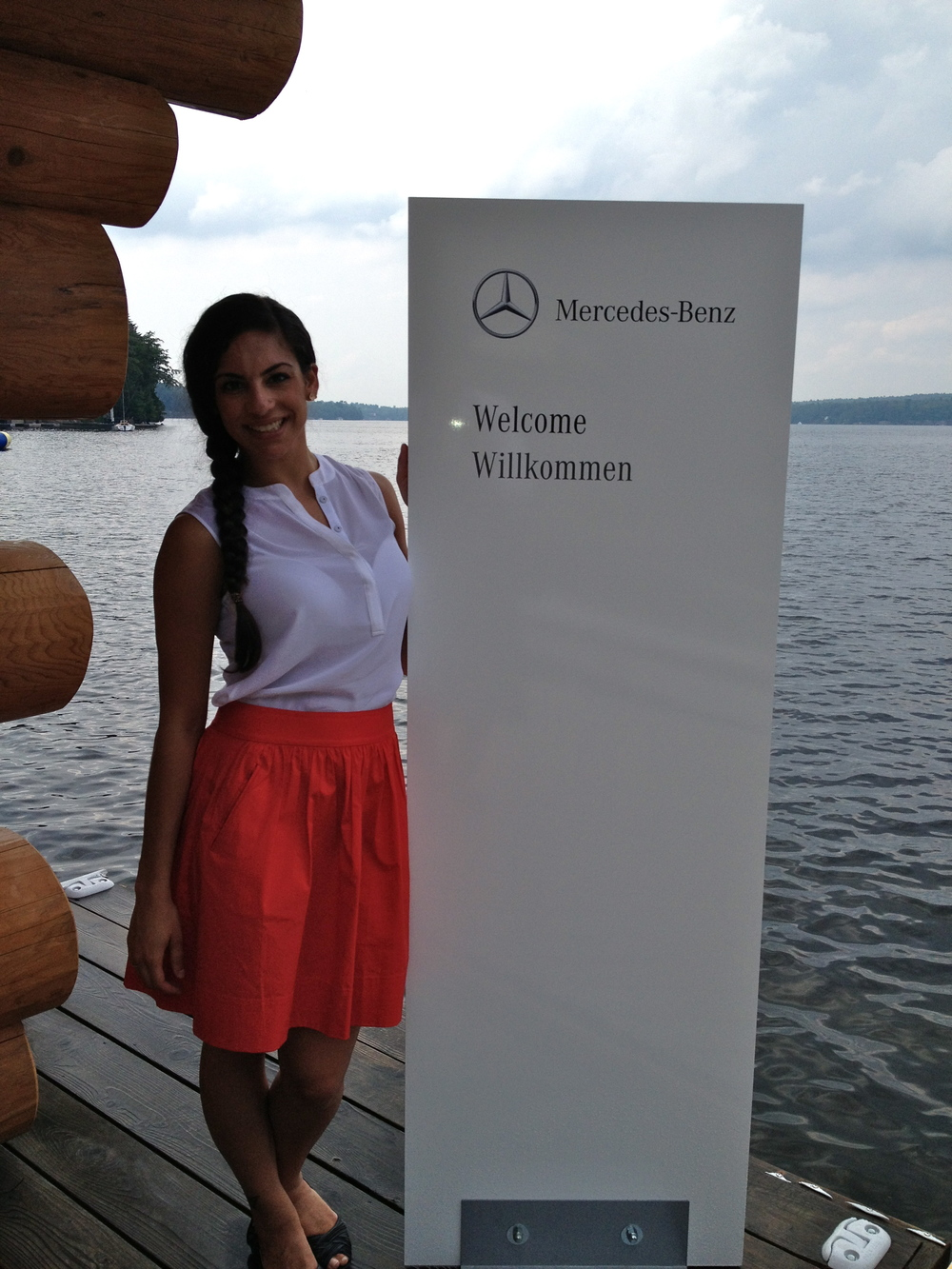 Mercedes Benz Event in Muskoka