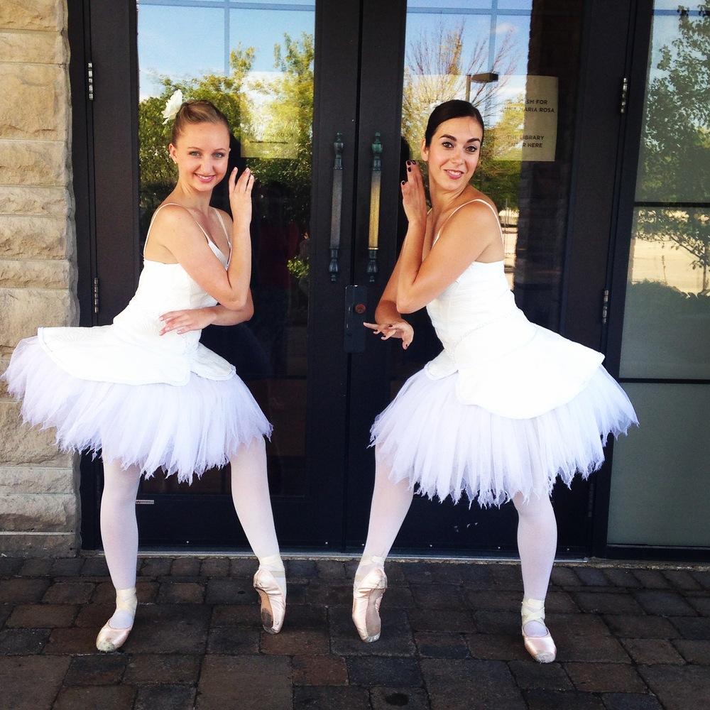 Ballerina Greeters