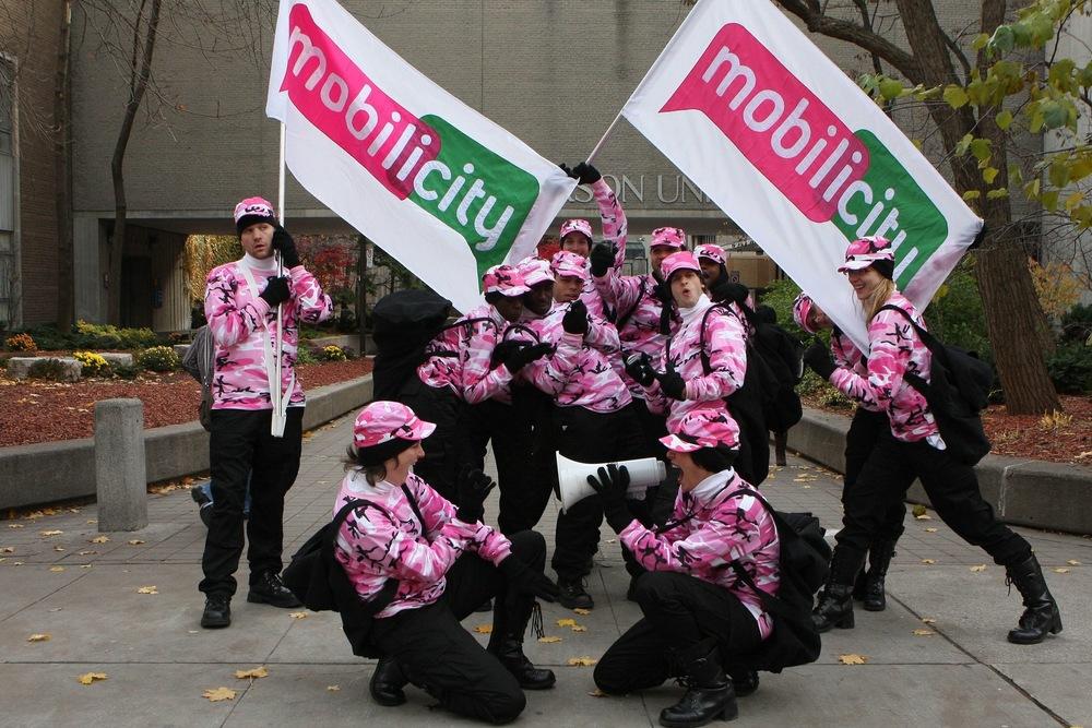 Mobilicity's Magenta Militia