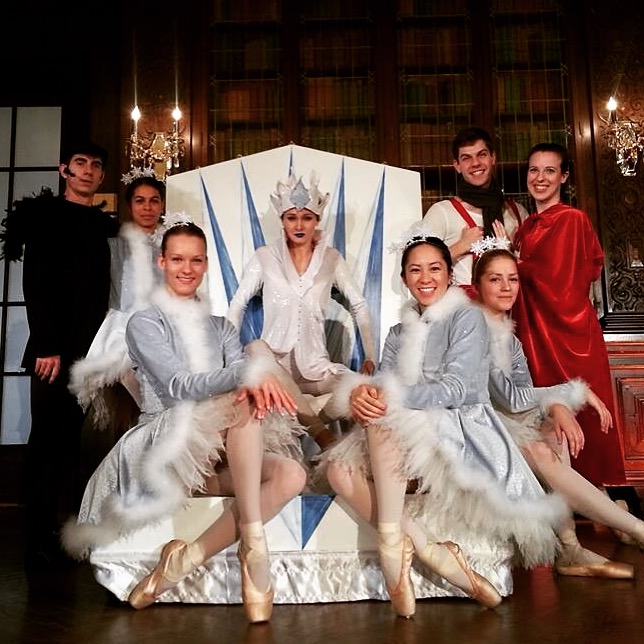 Post Show at Casa Loma's 'The Snow Queen'