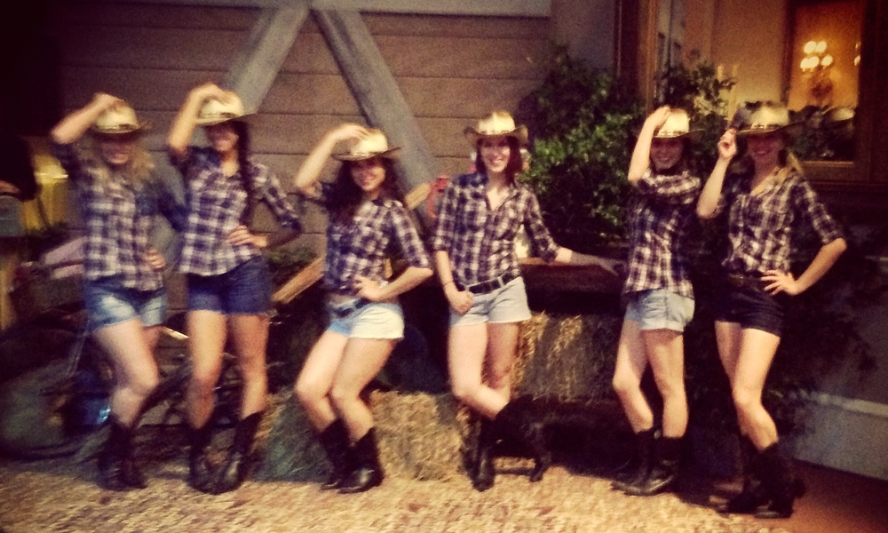 Cowgirl Hostesses
