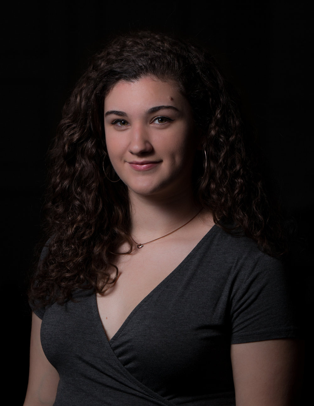 "Olivia Keane  '20 - Soprano  Solos - I Am  Major - Sociology  Minor - Education  Random Fact -  ""When I was five years old the only movie I would watch was The Lion King 1½"""