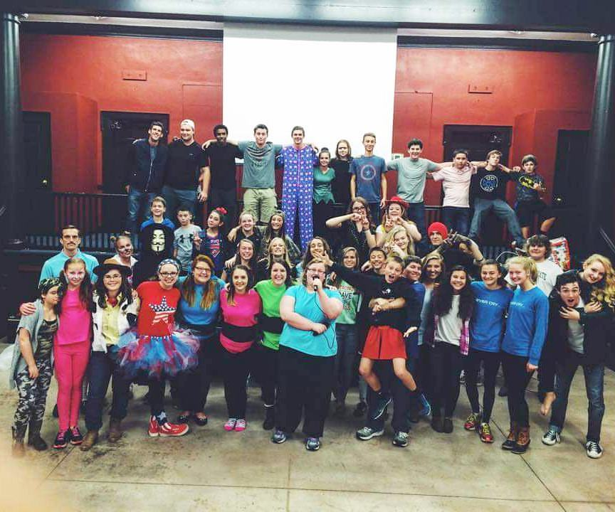 A big part of our community, mentoring & loving these amazingly wild high schoolers <3
