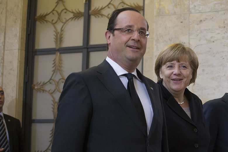 French President François Hollande and German Chancellor Angela Merkel (Source: flickr/kancelariapremiera)